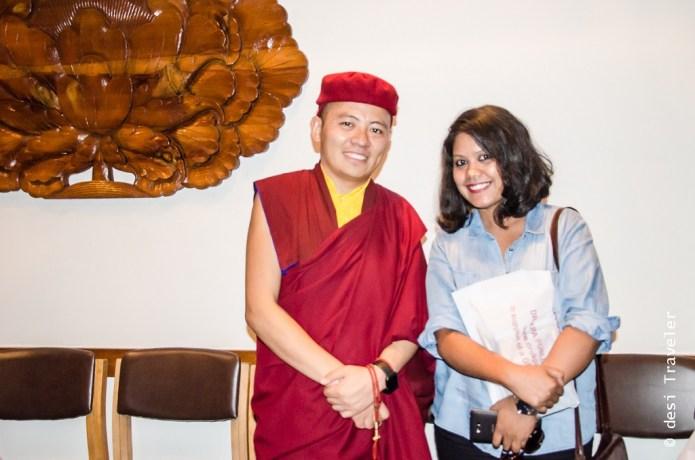 His Eminence Drukpa Thuksey Rinpoche