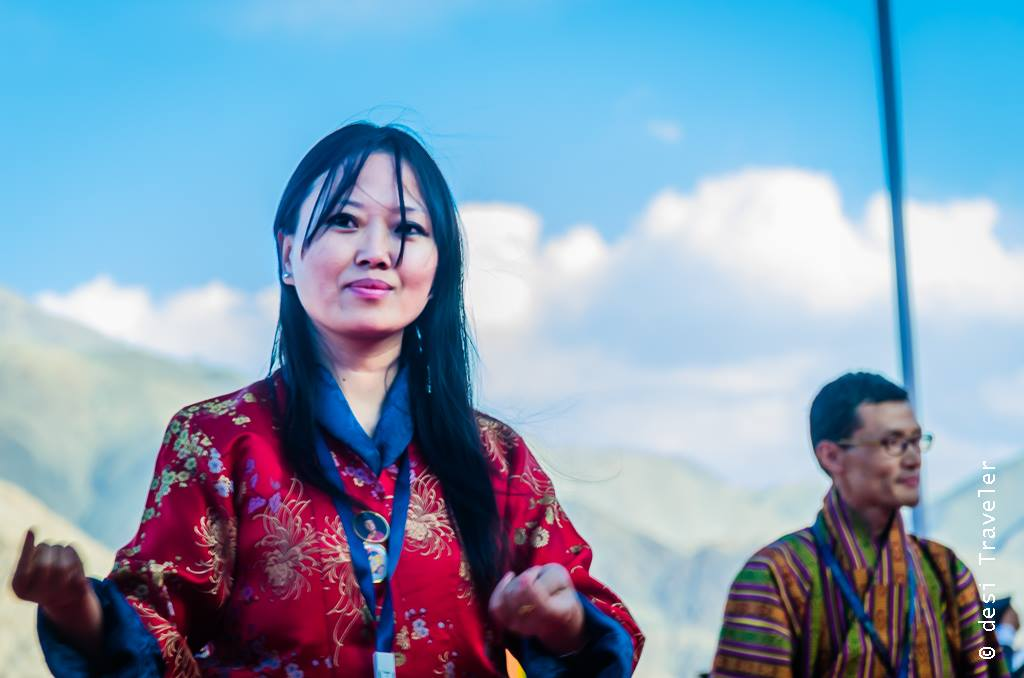 Bhutanese Dancer