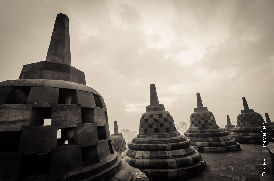 Borobudur UNESCO Heritage Site Indonesia