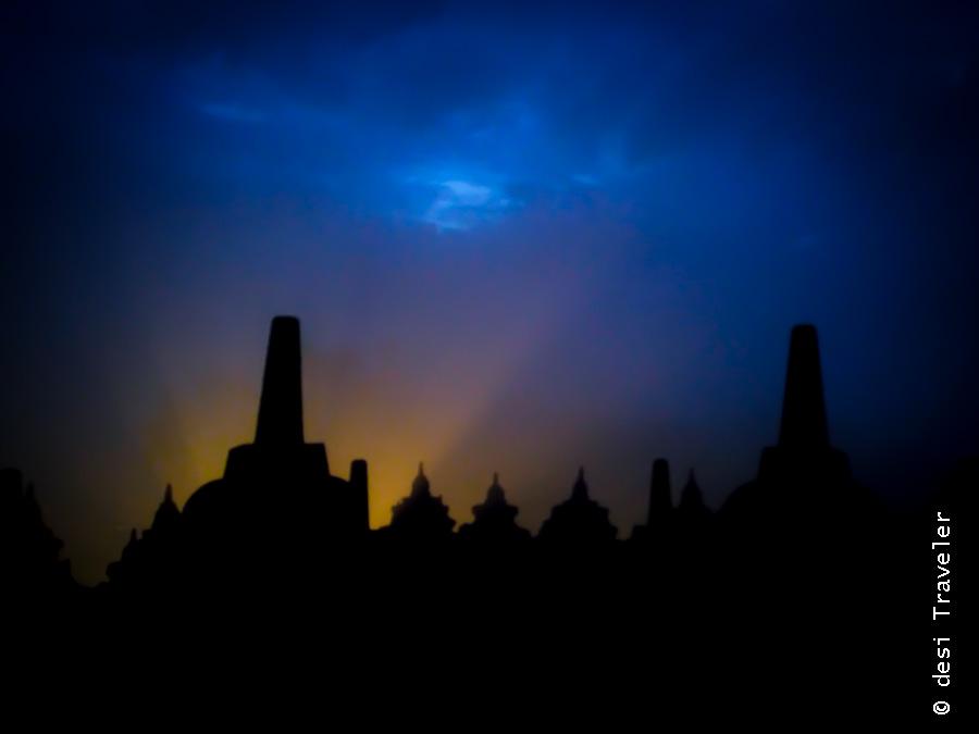 Sunrise Borobudur Indonesia