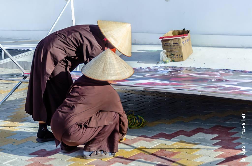 Monks from Vietnam at Naropa Festival