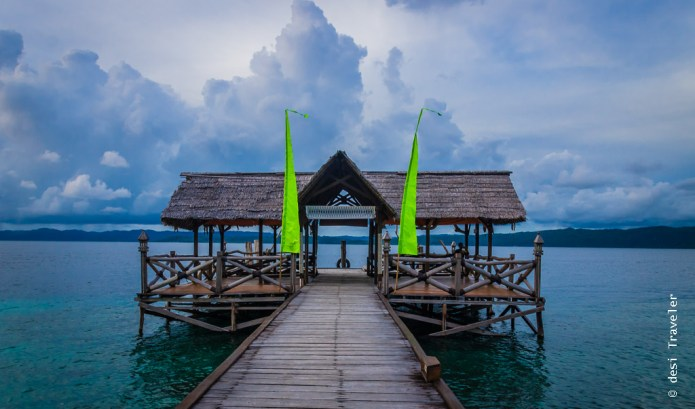 Pier Raja Ampat Dive Lodge