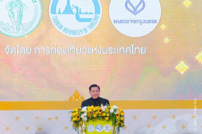 Thailand Deputy Prime Minister, H.E. General Tanasak Patimapragorn