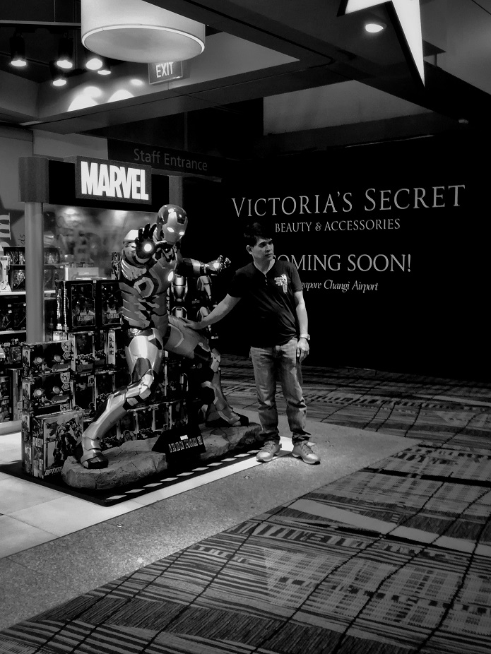 Victoria's Secret Store Changi Airport Superhero