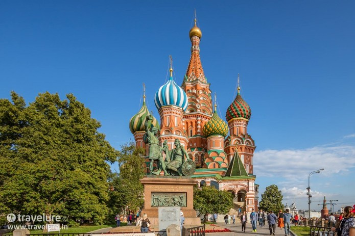 St Basil's Cathedral, Red Square, Moscow Travelure Ajay Sood