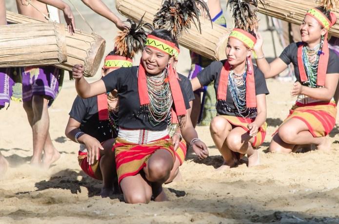A Naga Tribal dance Hornbill Festival Nagaland