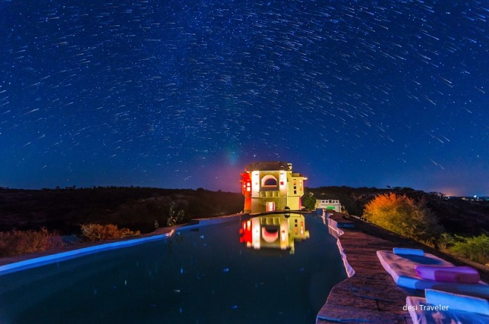 How to click and process star trails - Lakshman Sagar Rajasthan