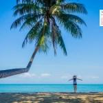 February 2018 Calendar Desktop Wallpaper – Deer Island Koh Chang Thailand