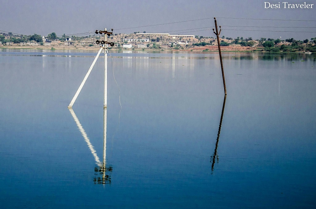 Pochampally Lake Bhoodan Pochampally Village, Telangana