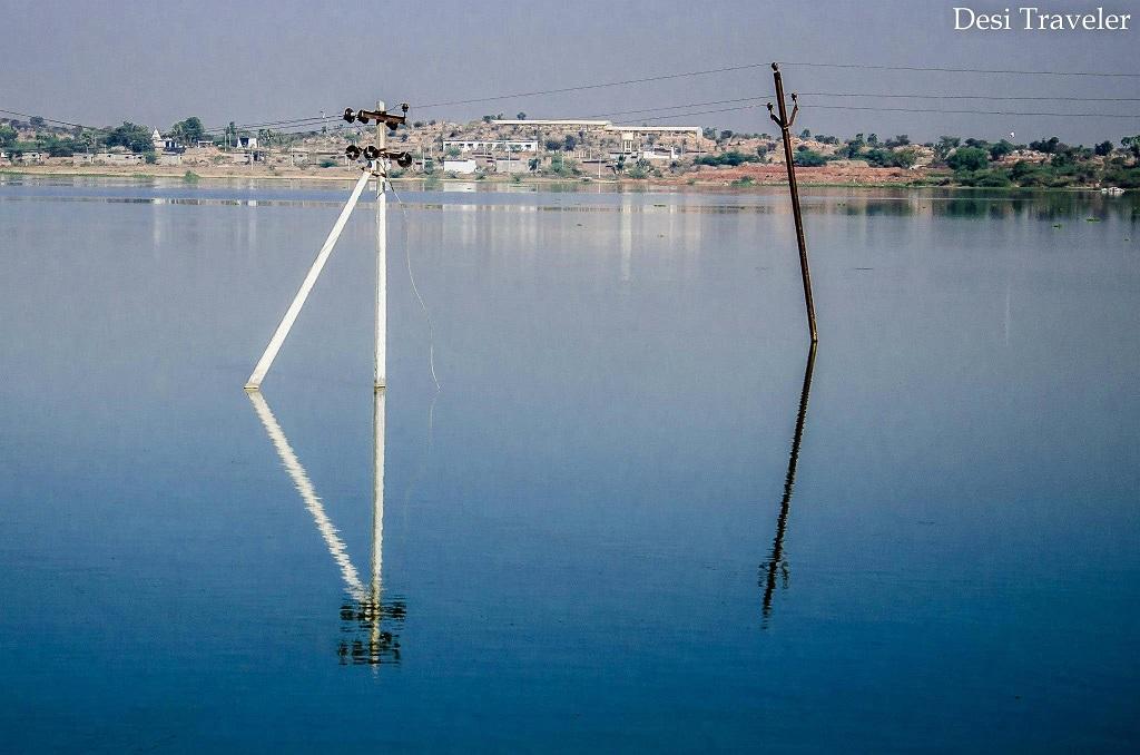 Pochampally Lake Bhoodan Pochampally Village, Telangana