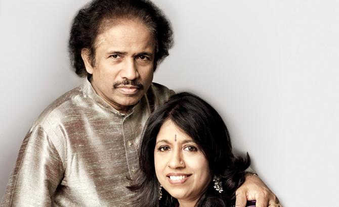 Dr L Subramaniam & Kavita Krishnamurthy