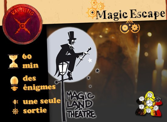 Magic Escape – Le mystère du Dr Schnitzel