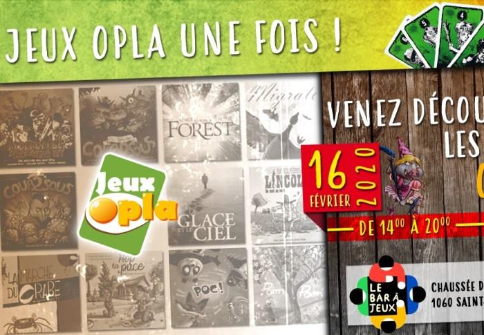 Des Jeux Opla Une Fois : Venez jouer avec nous !