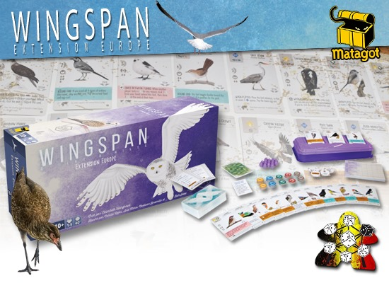 Wingspan: extension Europe