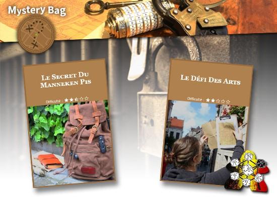 Mystery Bag – Le Défi des Arts