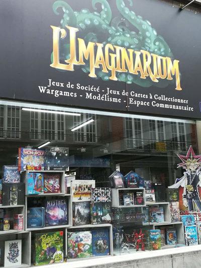Façade de l'imaginarium