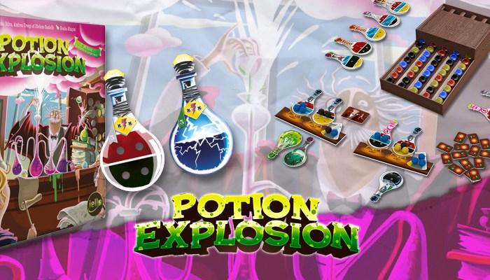 Potion Explosion, un jeu de réaction en chaîne