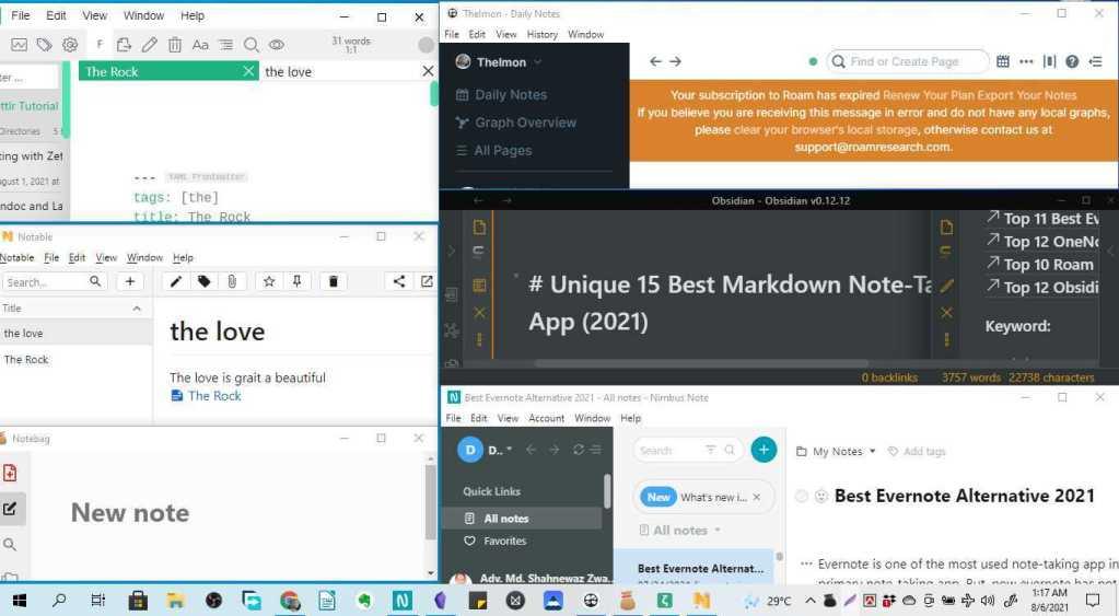 Markdown Note-Taking App