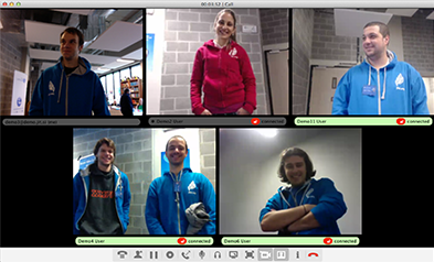 A Video Conference with Jitsi Videobridge