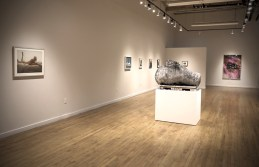 2.21.2018--The XOXO exhibition at the Des Lee Gallery. James Byard/Washington University