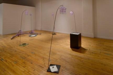 sculpture BFA show at Des Lee 2013