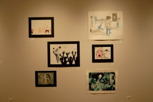 Core II exhibition at Des Lee shot by Gina Grafos
