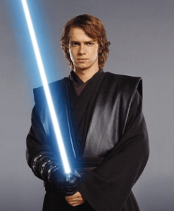 Photo promotionnel d'Anakin Skywalker pour le film Star Wars