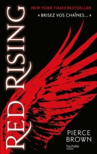 Couverture de Red Rising : aile rouge sur fond noir