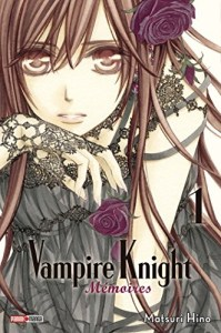 Photo de couverture du premier tome de Vampire Knight Mémoires