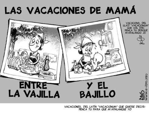 vacaciones para madre