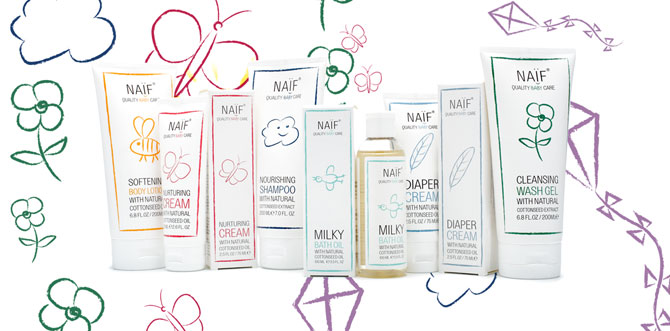 naifcare cosmetica infantil