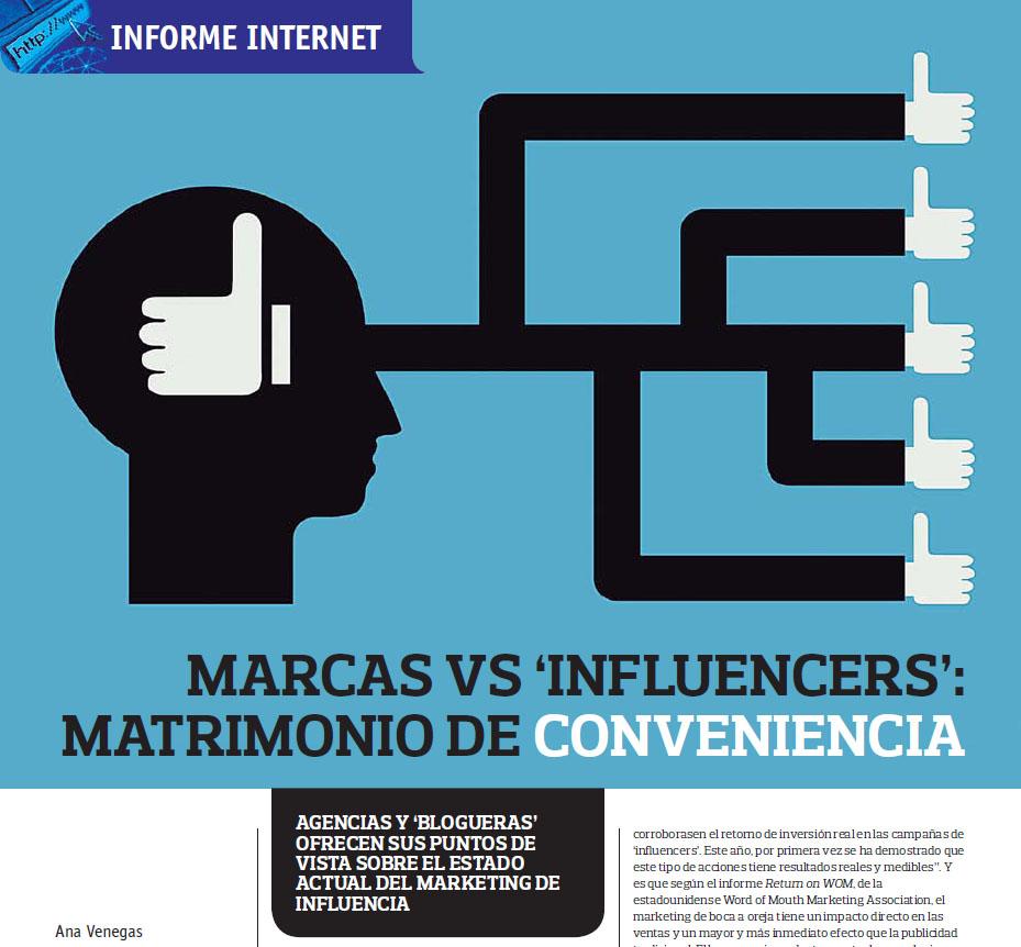 >Marcas vs 'influencers'