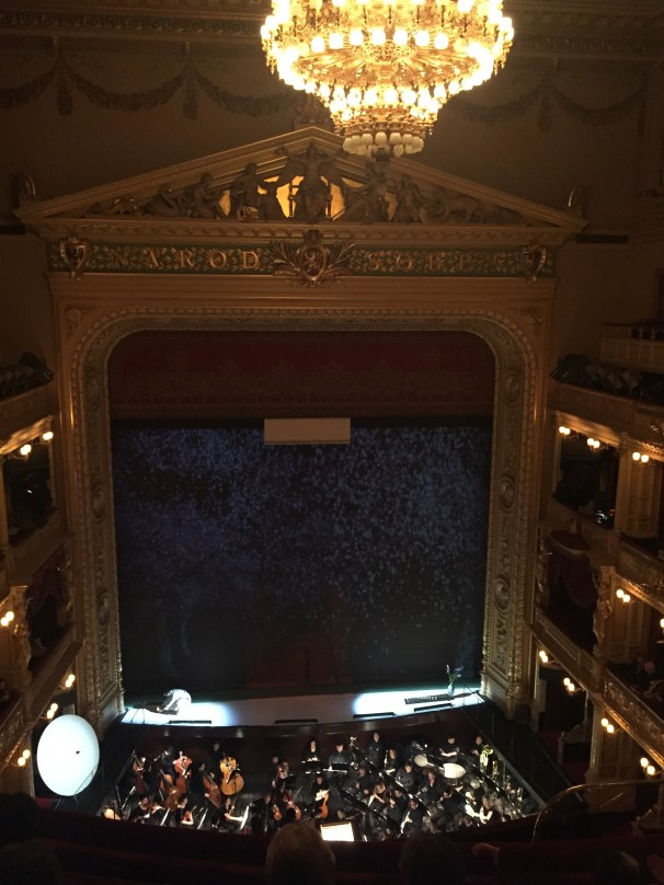Curtain before Madama Butterfly
