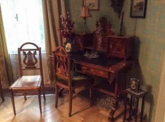 Janáček's desk