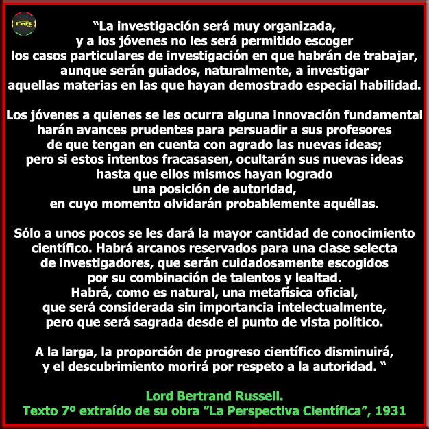 La Perspectiva Científica de Bertrand Russell