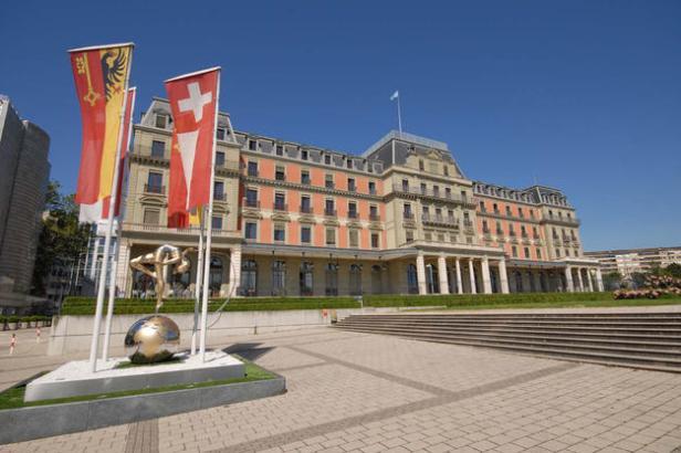 Palais Wilson de Ginebra Suiza, sede Oficina del Alto Comisionado ONU para los Derechos Humanos