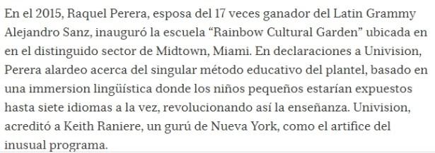 RAQUEL PERERA - DIRECTORA -  RAINBOW CULTURAL CENTER - MIAMI