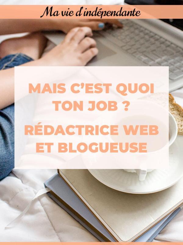 Des Mots et du Thé : le métier de rédactrice web et blogueuse