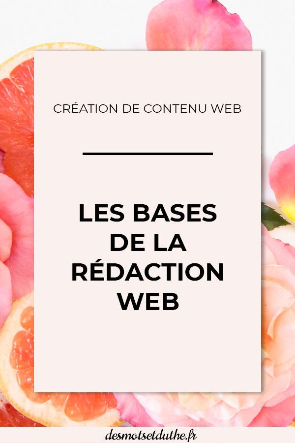 Les bases de la rédaction web : techniques de rédaction web