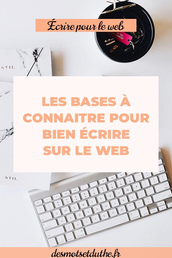 Techniques de rédaction web : les bases à connaitre pour bien écrire sur le web