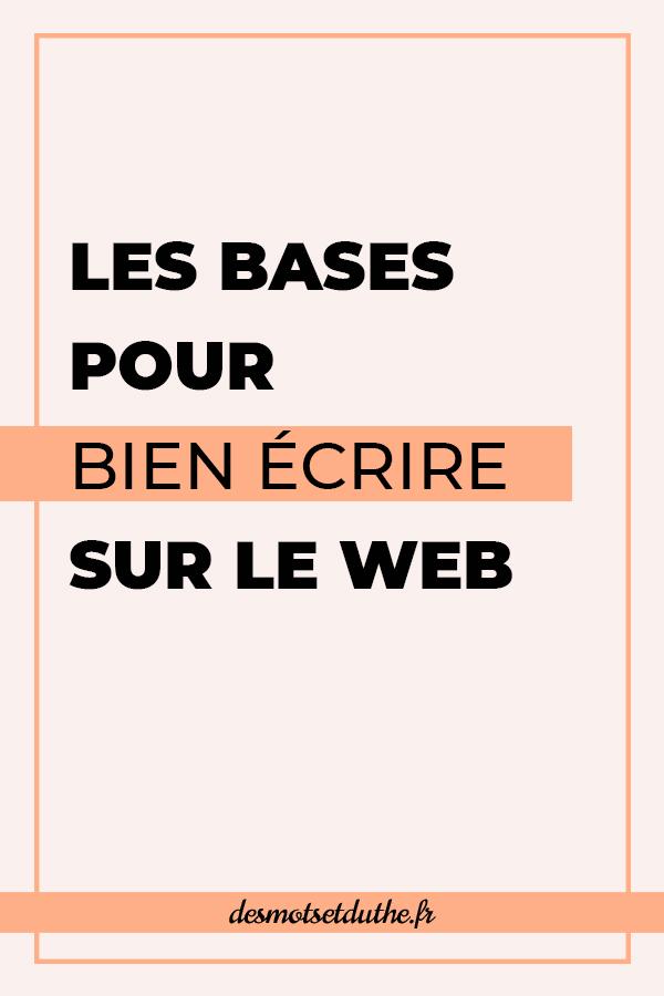 Techniques de rédaction web : les bases pour bien écrire sur le web.