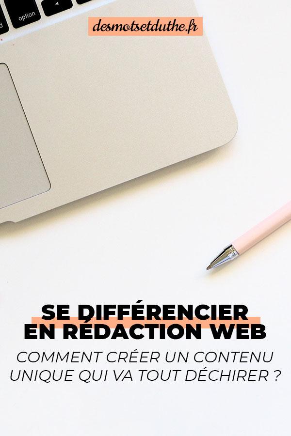 Se différencier en rédaction web et créer du contenu unique