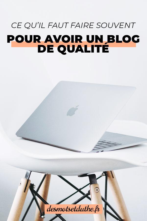 Astuces blogging : ce qu'il faut faire régulièrement pour améliorer son blog