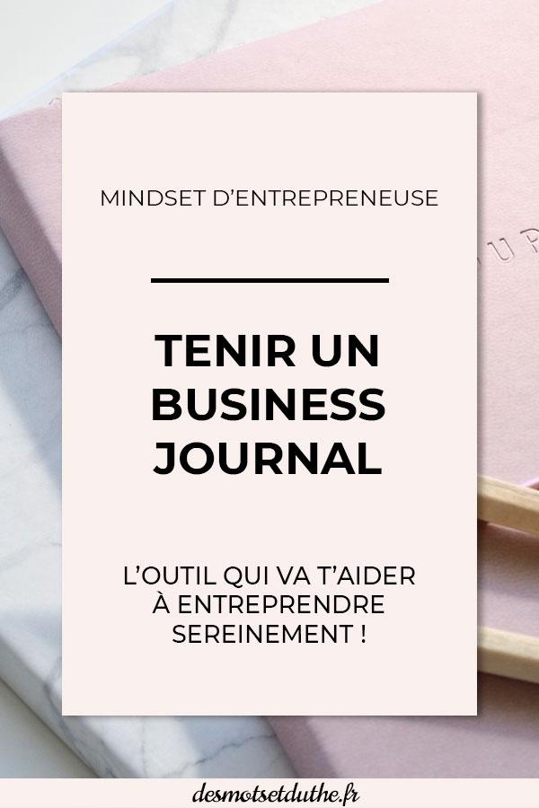 Tenir un business journal