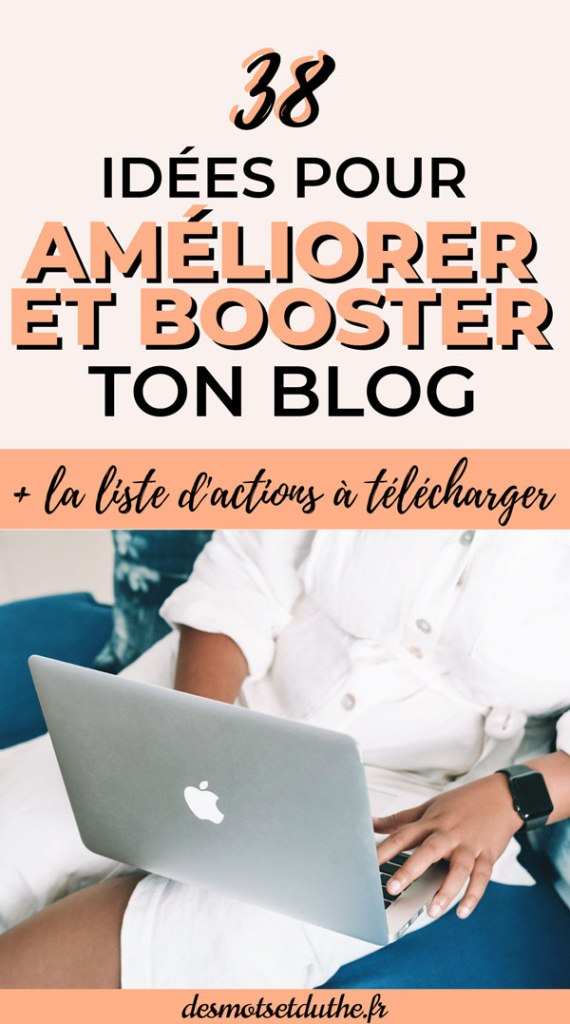 38 idées pour améliorer son blog
