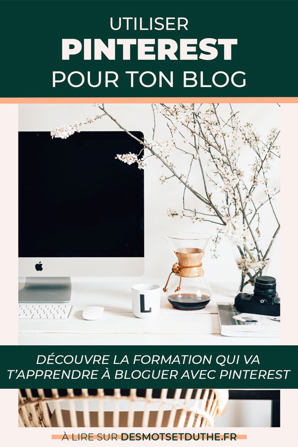 Formation Pinterest : augmenter le trafic de son blog avec Pinterest