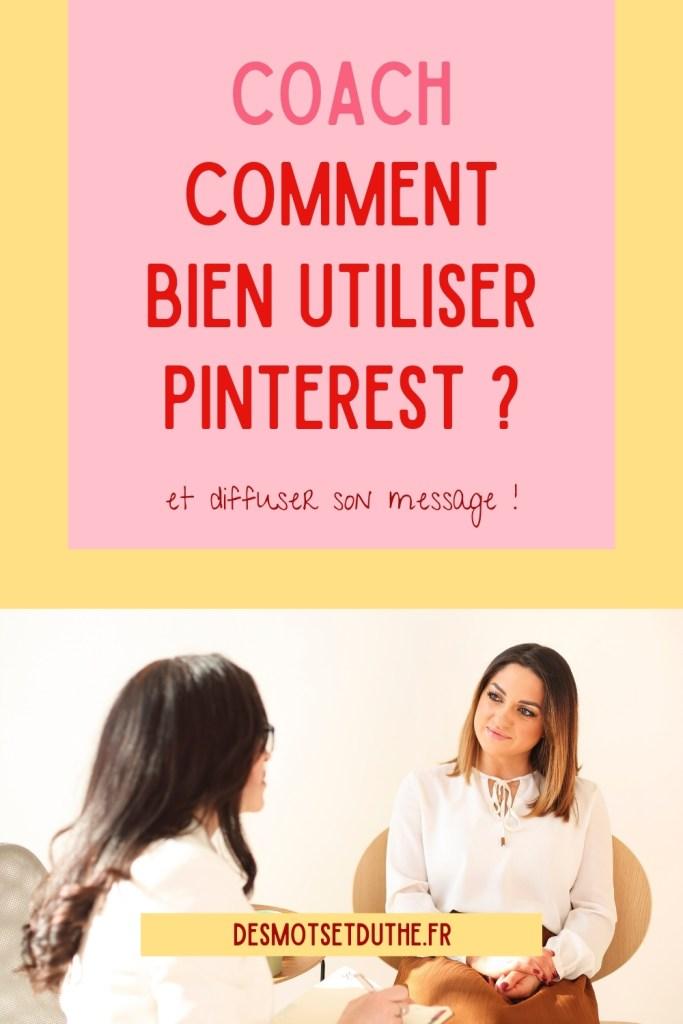 Comment bien utiliser Pinterest quand on est coach ?