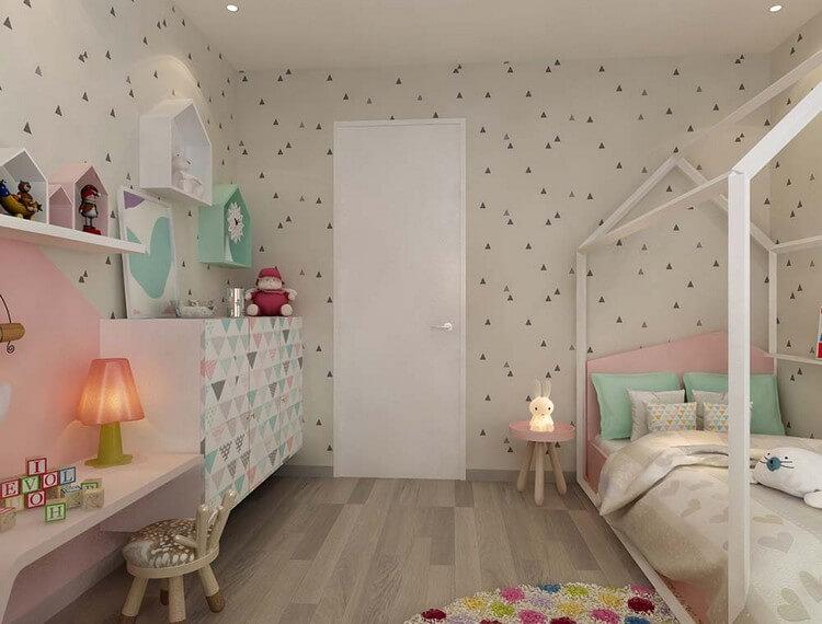 дизайн детской комнаты для девочки 12 квм фото 3