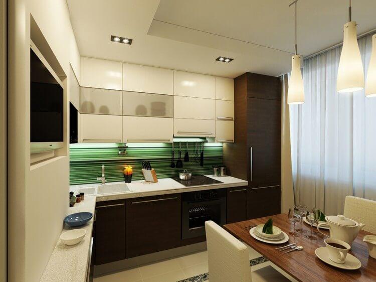 дизайн кухни 8 кв м фото новинки 2019 года 6
