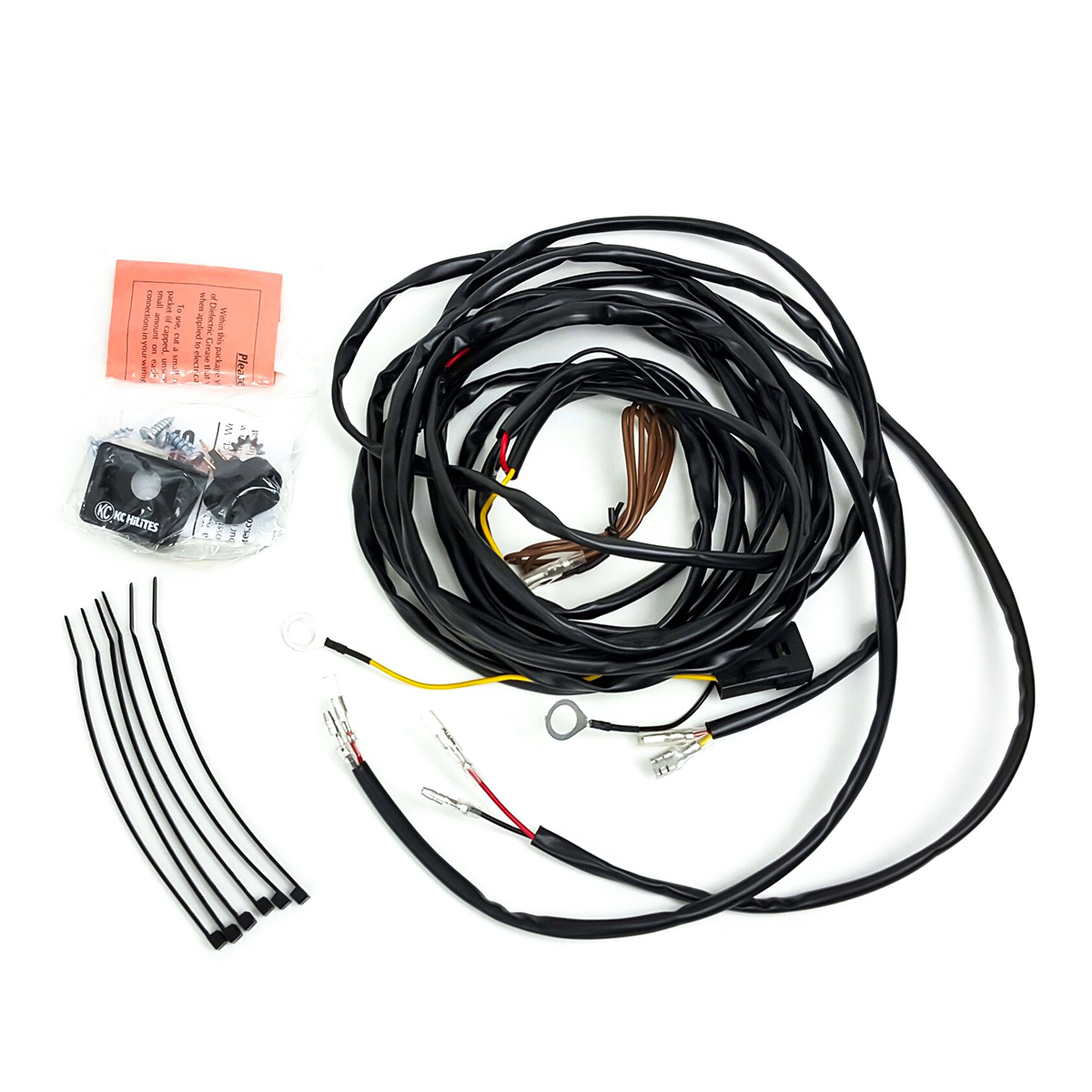 Wire Harness For 2 Cyclone Lights Desolate Motorsports